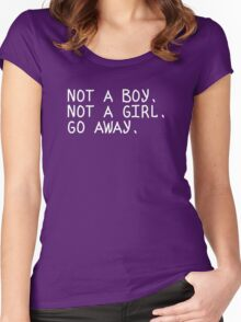 No gender Women's Fitted Scoop T-Shirt