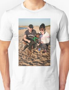 33. Alana & her King Charles/ Mini Foxy, Charlie Unisex T-Shirt
