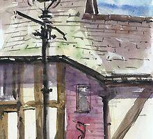 Lamp posts of Shrewsbury by bakuma
