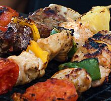 BBQ Skewers by Dave Lloyd