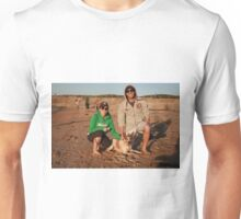 34. Peta & Joel with Bonnie the Cattle Cross Unisex T-Shirt