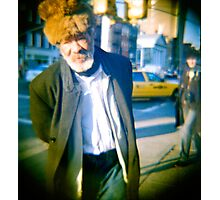 Street Peddler Photographic Print