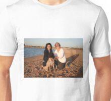 35. Lisa & Nicola with Labradoodle Sid Unisex T-Shirt