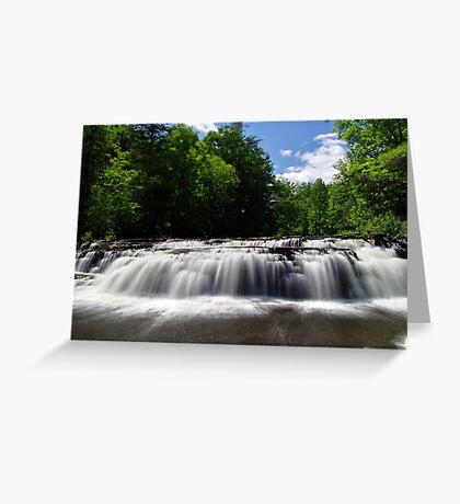Stair Falls - Summer Greeting Card