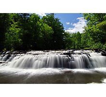 Stair Falls - Summer Photographic Print