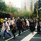 Zombie Crossing by MichaelCouacaud