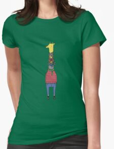 Scarf Lover Womens Fitted T-Shirt