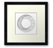 Apollo Soyuz Grey Framed Print