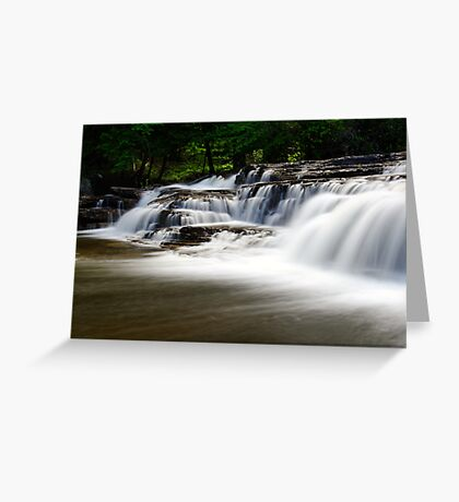 Stair Falls - Side View Greeting Card
