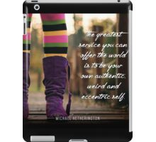 The Greatest Service iPad Case/Skin
