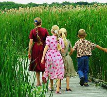 In the Marsh by tanmari