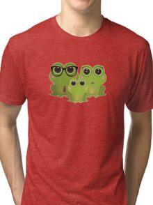 Frog Family Tri-blend T-Shirt