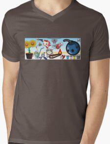 mikoto's 2nd birthday banner  Mens V-Neck T-Shirt