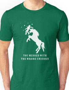 You Messed with the Wrong Unicorn T-Shirt