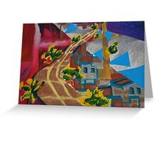 City landscapes : Outward bound Greeting Card