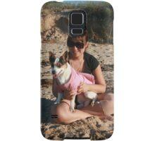 22. Belinda & her Jack Russell Terrior Samsung Galaxy Case/Skin