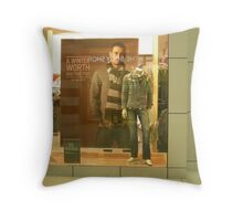 Shopfronts -Series 2 Throw Pillow