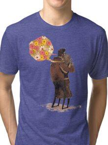Speak Happy Thoughts. Tri-blend T-Shirt