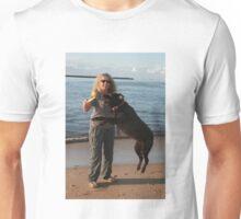 21. Carole & her Chocolate Labrador Unisex T-Shirt