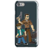 Rick & Carl Grimes iPhone Case/Skin