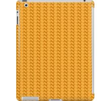 Yellow knitted pattern.  iPad Case/Skin