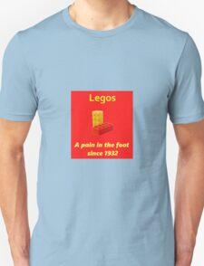 Legos - Destroying Feet Unisex T-Shirt