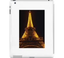 night time in paris iPad Case/Skin