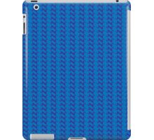Blue knitted pattern.  iPad Case/Skin