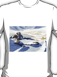 Curbar Edge, Peak District, Derbyshire T-Shirt