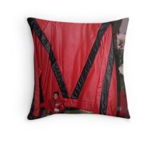 MICHAELS  RED  JACKET Throw Pillow