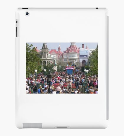 follow the crowd iPad Case/Skin
