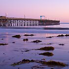 Goleta Beach Pier by Leroy Laverman