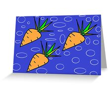 Cute Carrots Greeting Card