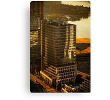 Downtown Vancouver, British Columbia, Canada Canvas Print