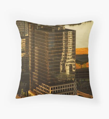 Downtown Vancouver, British Columbia, Canada Throw Pillow