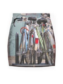 City Bikes Mini Skirt