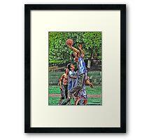 NBA dreams Framed Print