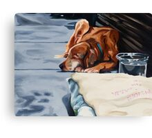 Dog Dreams Canvas Print