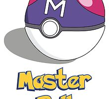 The Master Ball by EdenApparel
