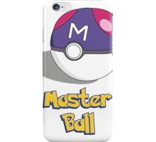 The Master Ball iPhone Case/Skin