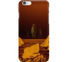 Escape from red planet iPhone Case/Skin