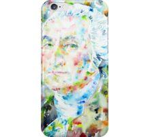 GEORGE WASHINGTON - watercolor portrait iPhone Case/Skin