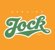 GenuineTee - Jock (green/white) by GerbArt
