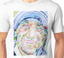 MOTHER TERESA - watercolor portrait Unisex T-Shirt