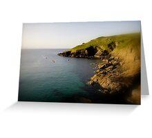 Cliffs End Greeting Card