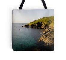 Cliffs End Tote Bag