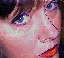 Blue-Eye Diagram of Soul by Anthea  Slade