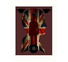 The King of London Art Print
