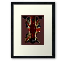 The King of London Framed Print