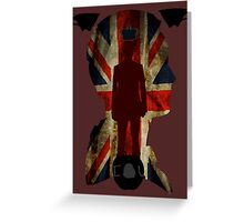 The King of London Greeting Card